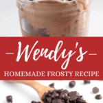 Wendy's Homemade Frosty Recipe