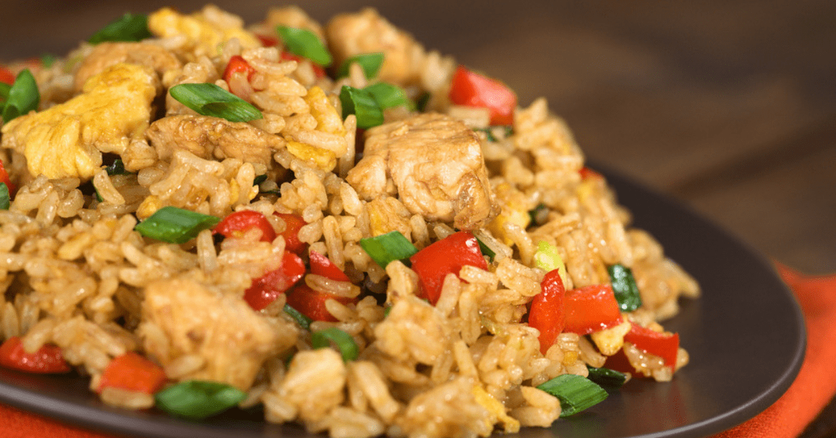 Easy Chicken Fried Rice - Better Than Takeout