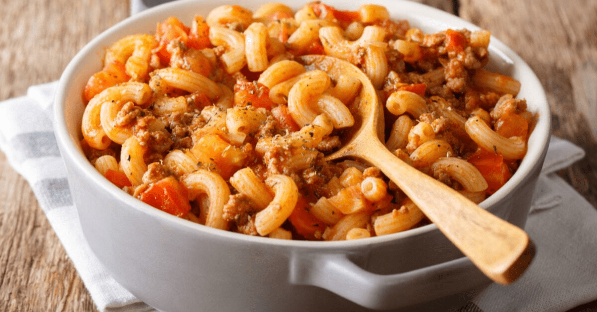 Easy One-Pot American Goulash