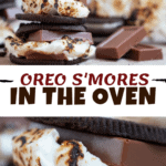 Oreo S'Mores In The Oven