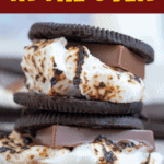 Oreo Smores In The Oven