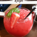 Texas Roadhouse Strawberry Margarita