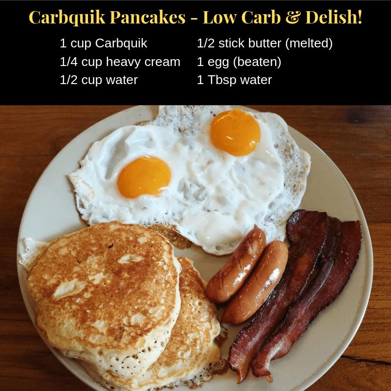 Carbquik Pancakes - Low Carb