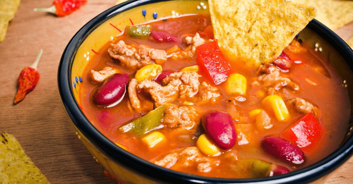 Easy Crockpot Taco Soup Recipe
