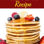 Ihop Pancake Recipe