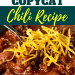 Wendy's Chili Recipe