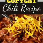 Wendy's Copycat Chili Recipe