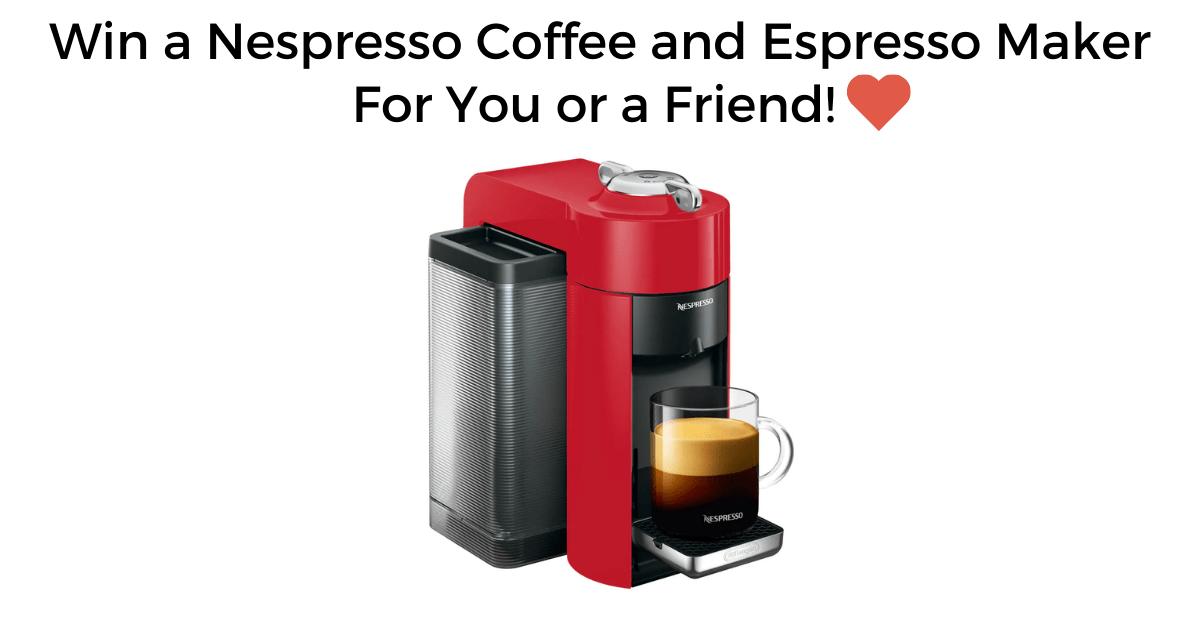 Win Nespresso Maker