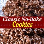 Classic No Bake Cookies