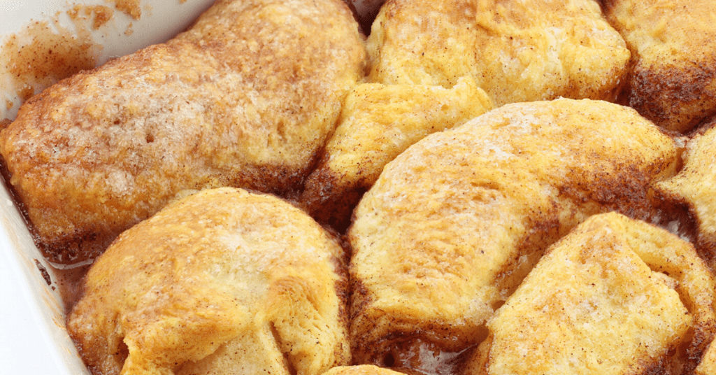Crescent Roll Apple Dumplings