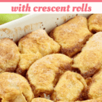 Apple Dumplings with Crescent Rolls