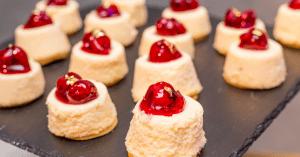 Bite-Size Cheesecakes