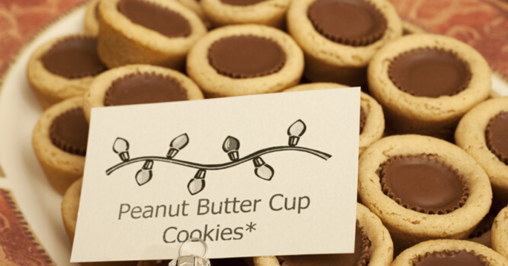 Peanut Butter Cup Cookies