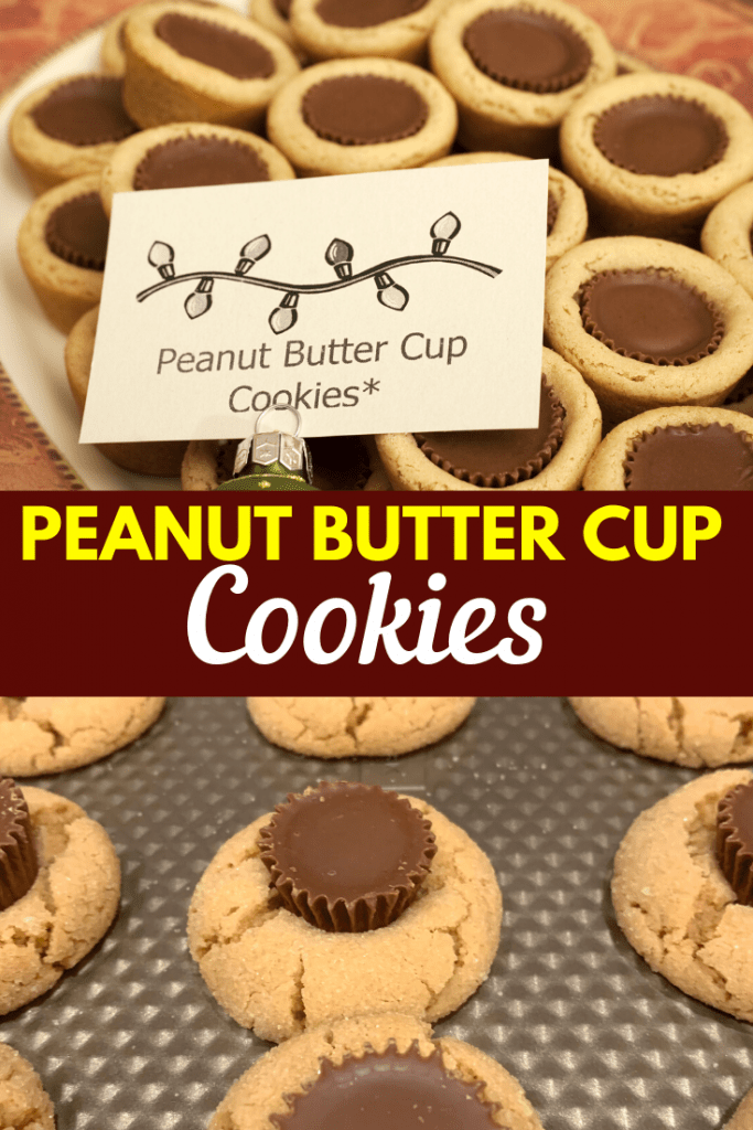 Peanut Butter Cup Cookies Pin