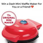 Win a Mini Waffle Maker!