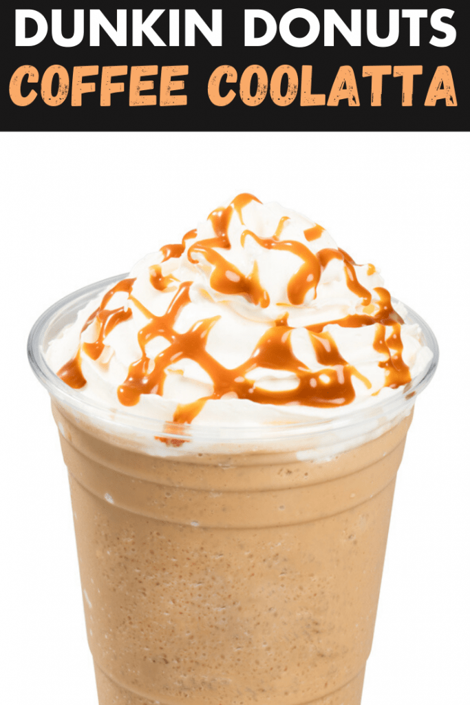Dunkin Donuts Coffee Coolatta Copycat