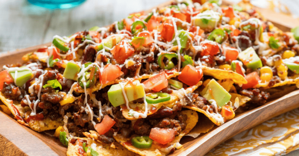 Easy Homemade Nachos