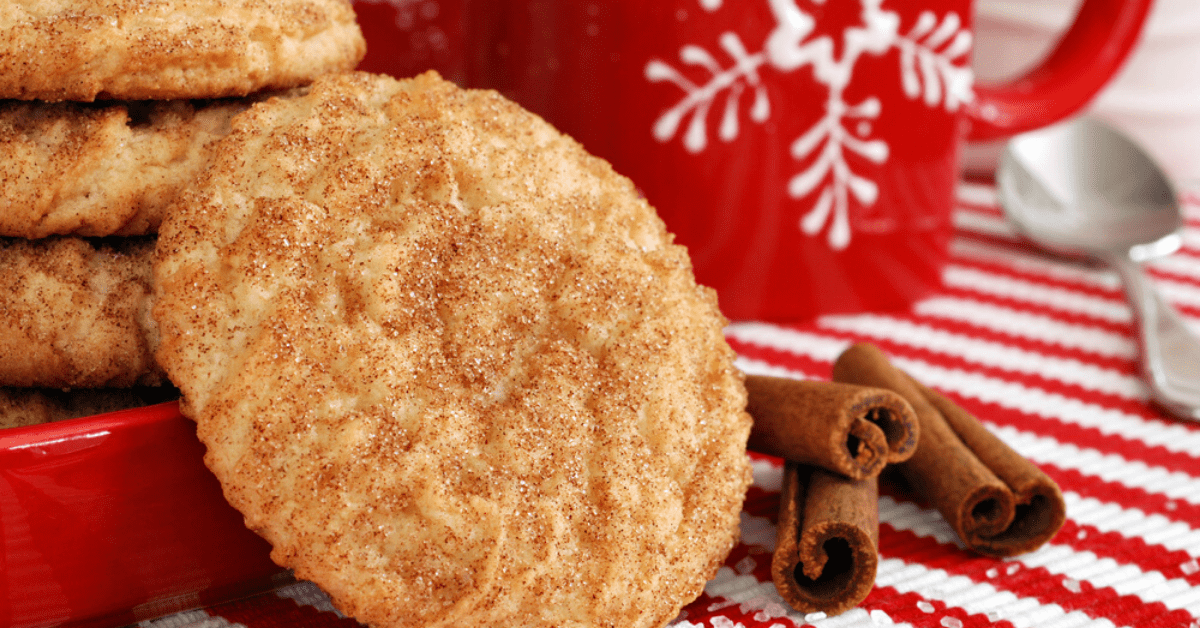 Soft and Chewy Snickerdoodle Recipe