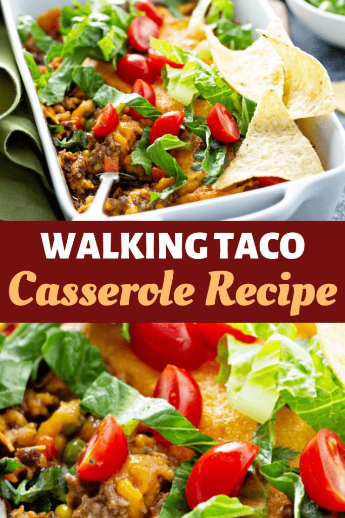 Walking Taco Casserole Recipe