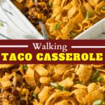 Walking Taco Casserole