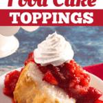 Angel Food Cake Toppings