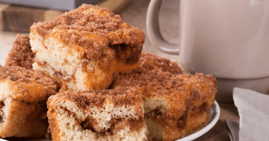 Coffee Cake Slices