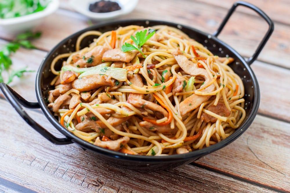 Almond Noodles