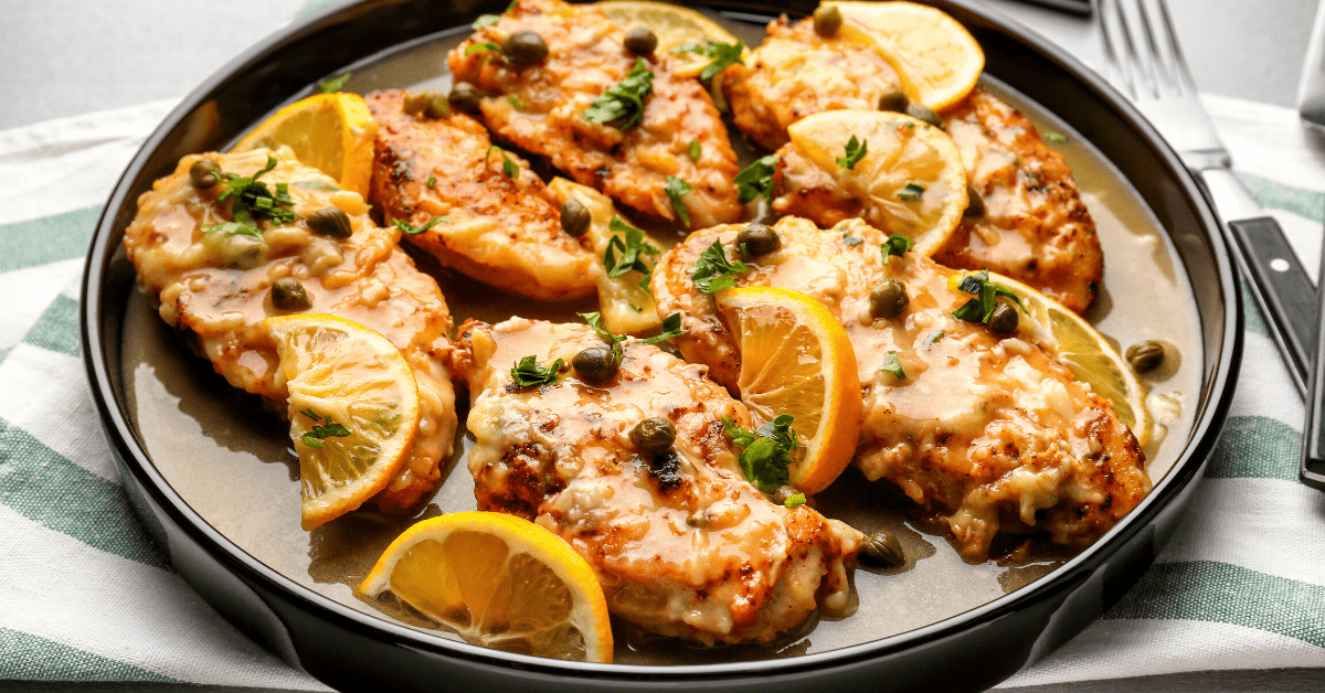 What to Serve with Chicken Piccata: 10 Delectable Sides
