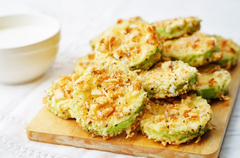 Frico Chips With Zucchini