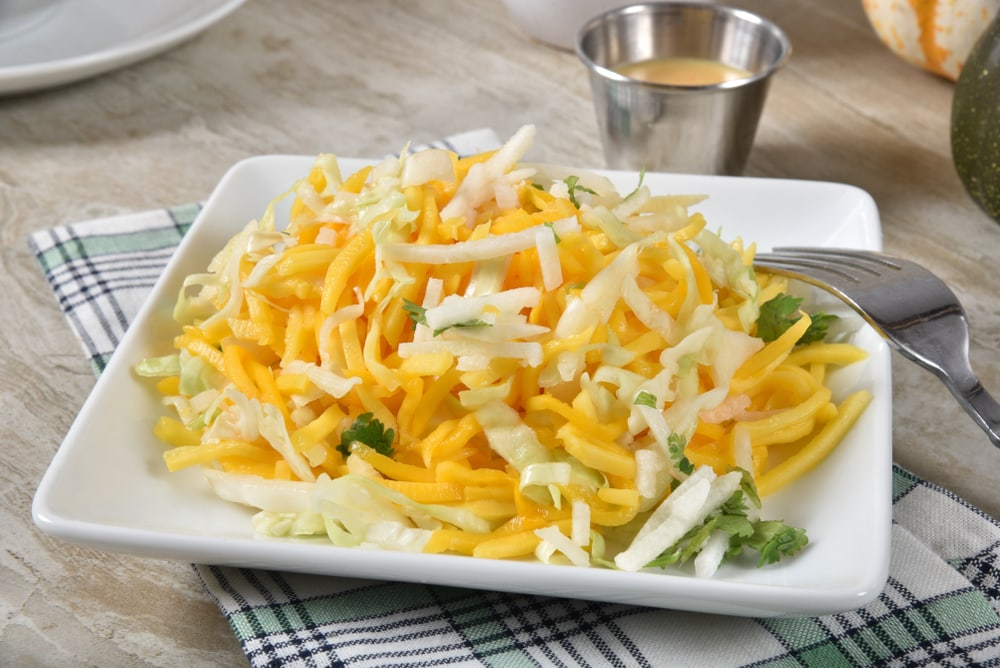 Jicama With Mango Slaw