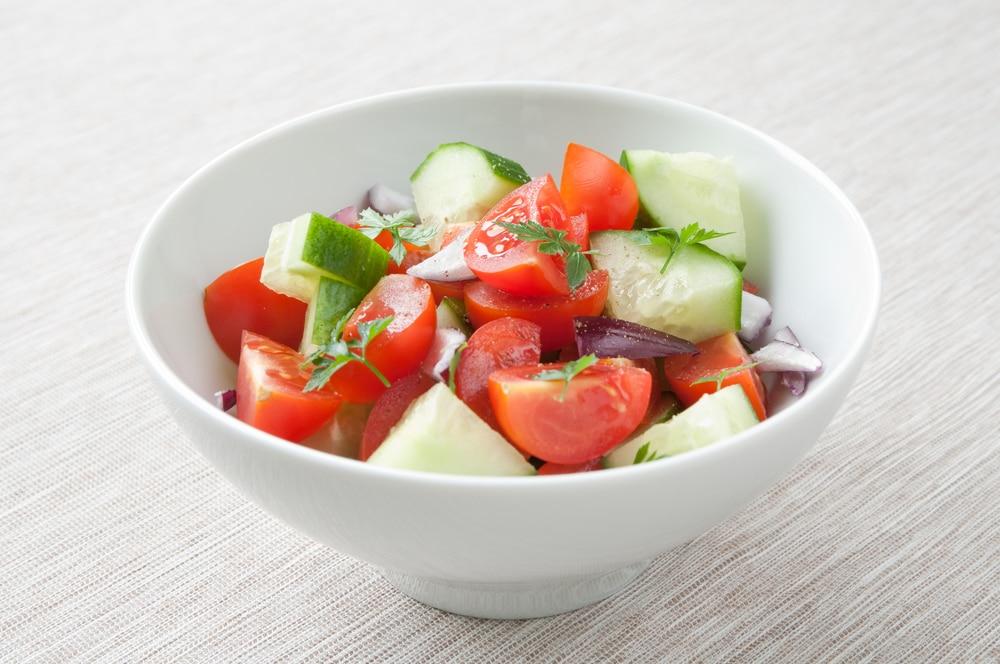 Brazilian Tomato Slaw