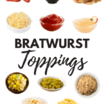 Bratwurst Toppings