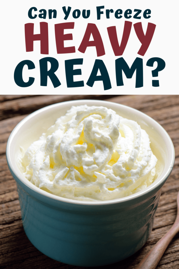 Can You Freeze Heavy Cream?