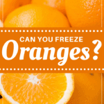 Can You Freeze Oranges
