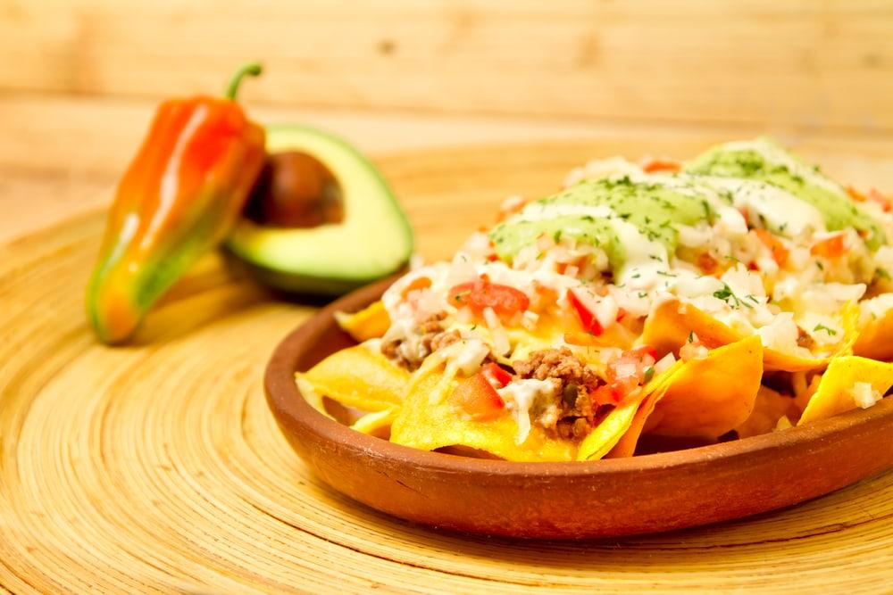 Chili Potato Nachos