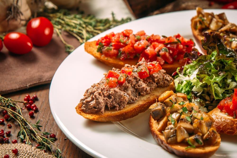Meatloaf Bruschetta