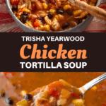 Trisha Yearwood Chicken Tortilla Soup