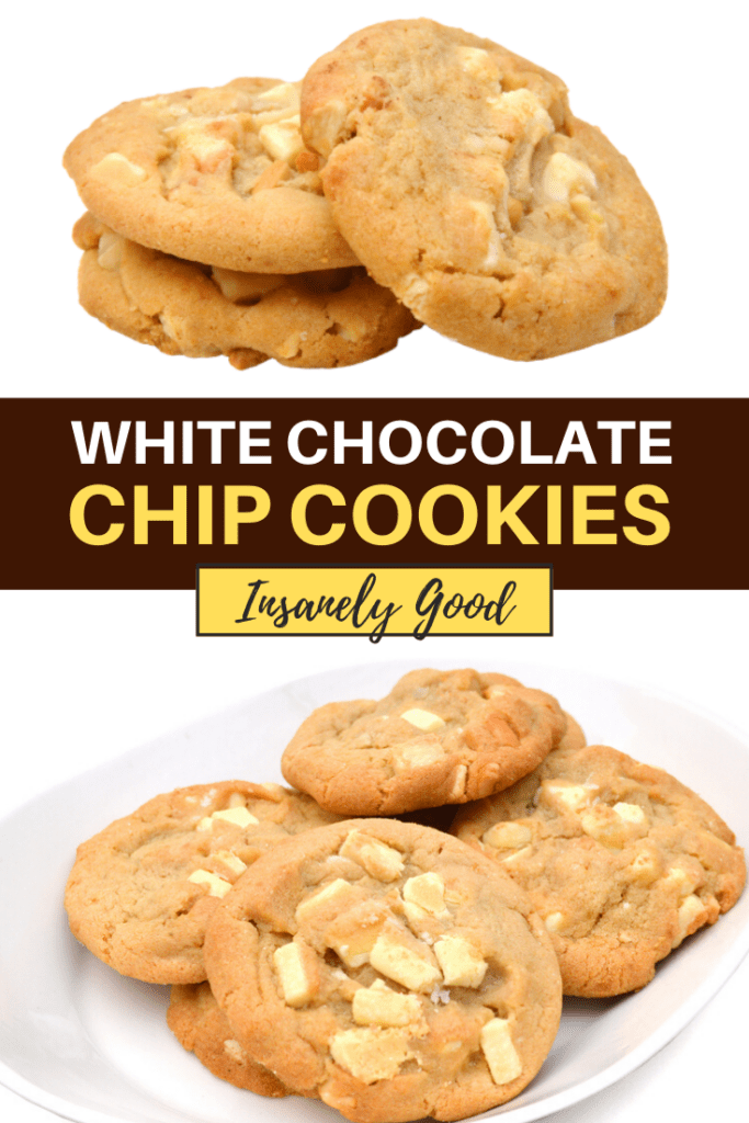 White Chocolate Chip Cookies