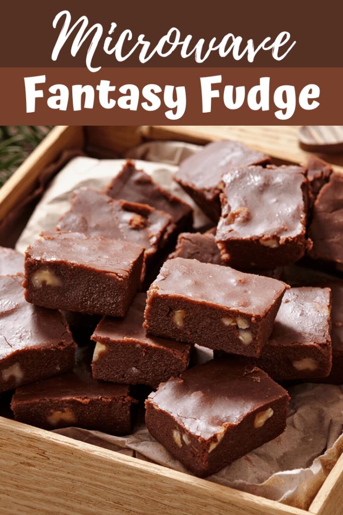 Microwave Fantasy Fudge