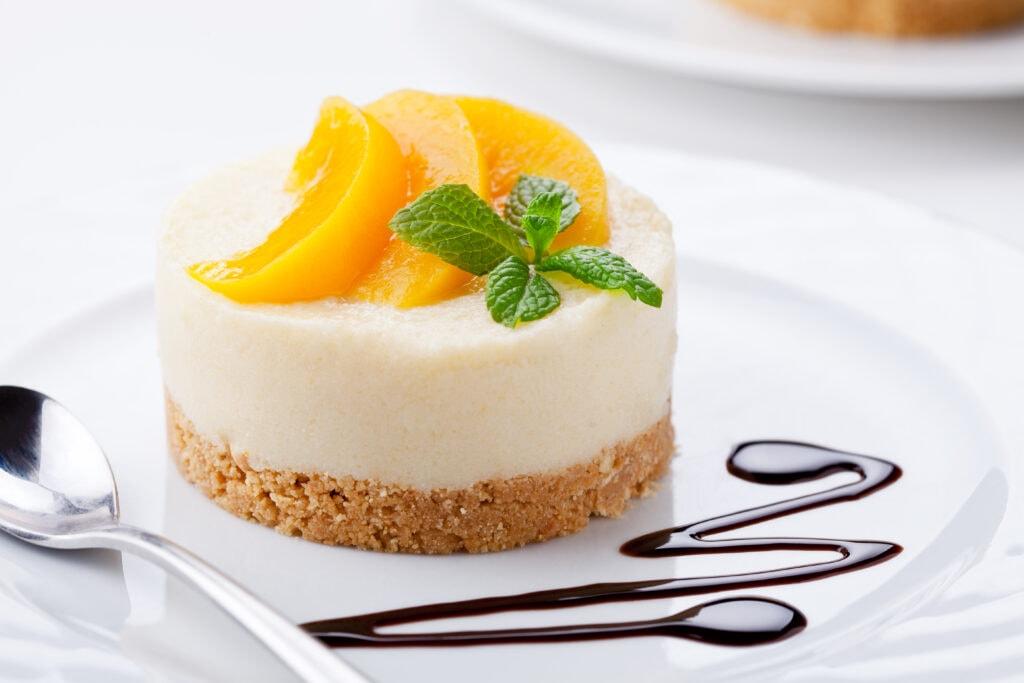 Peach Cheesecake
