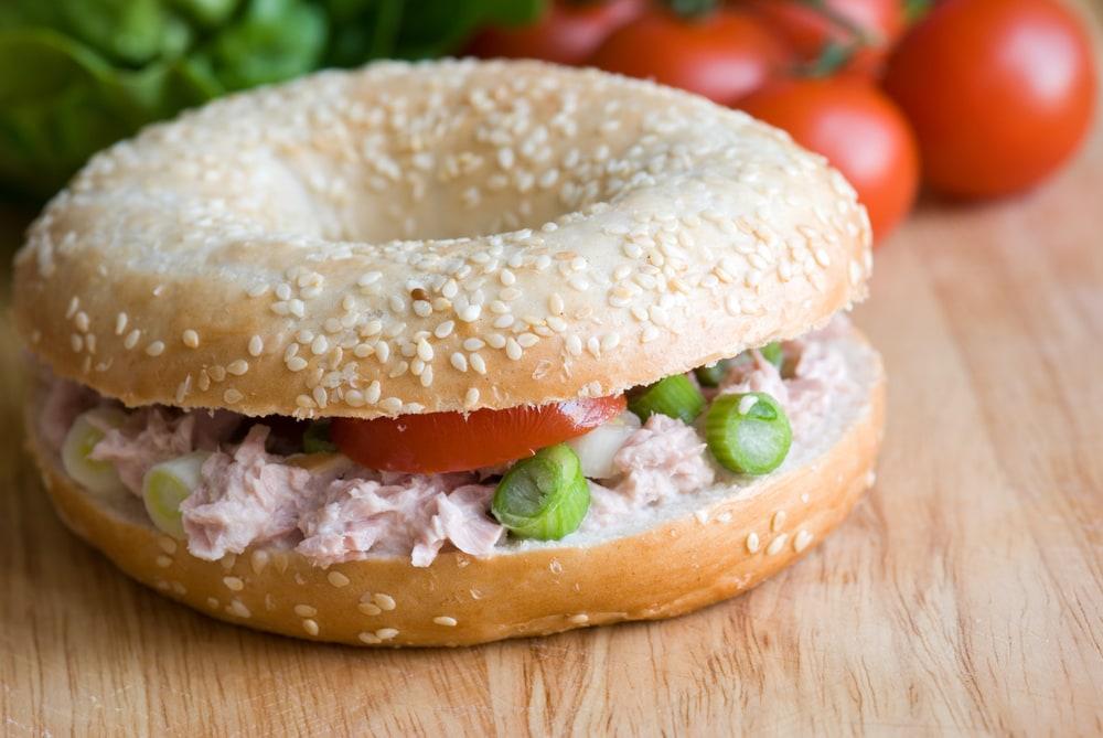 Tuna Salad Bagel