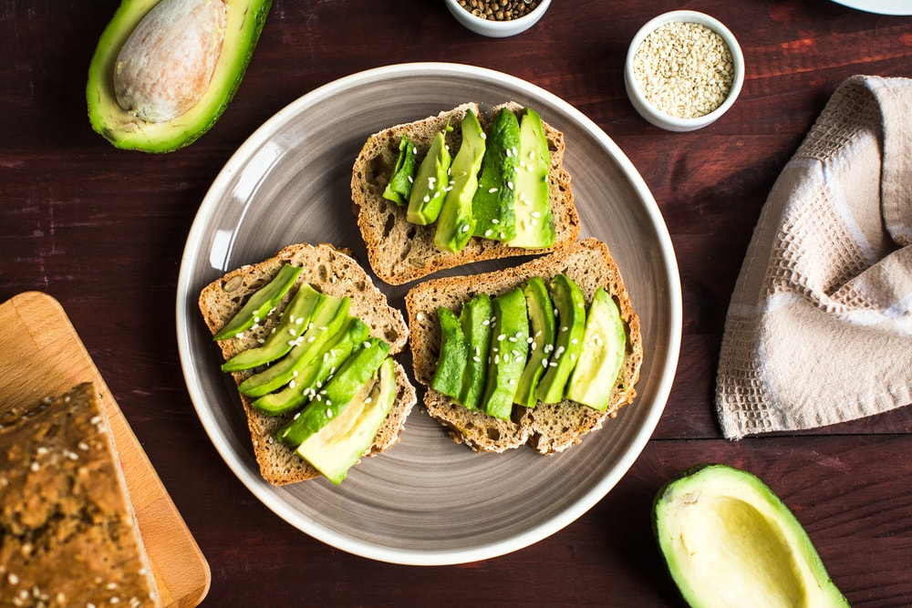 French Toast With Avocado Toppings