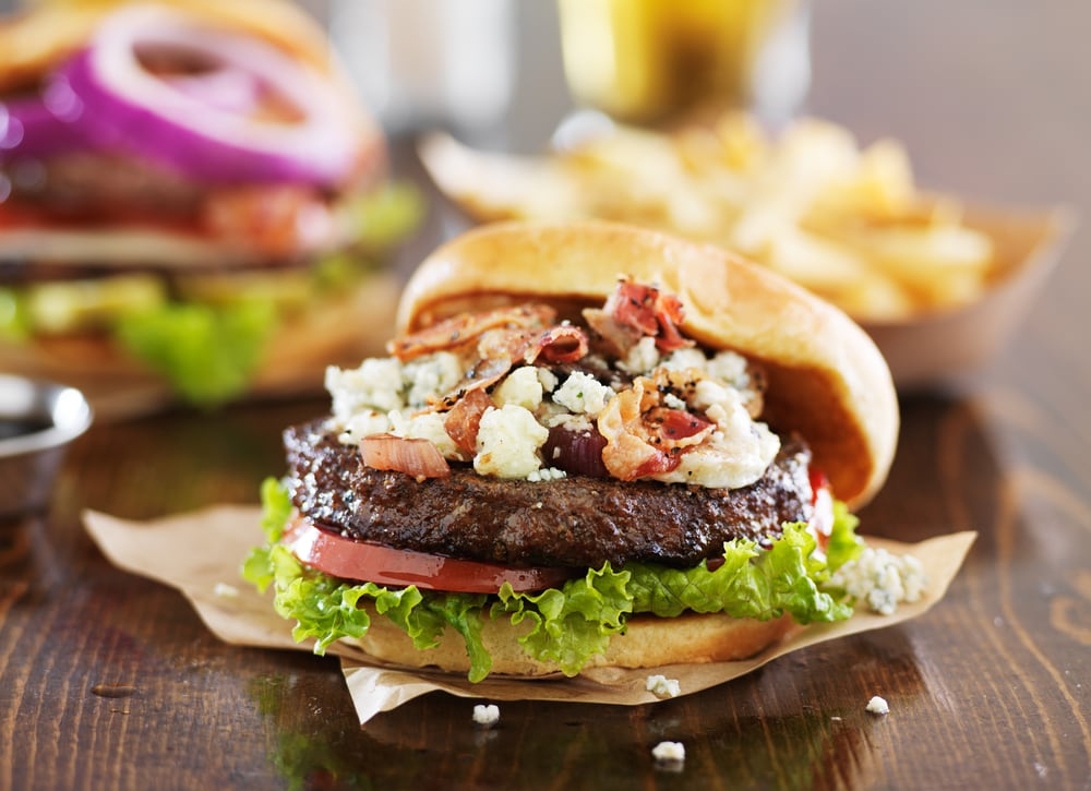 Buffalo Bleu Cheese Burger