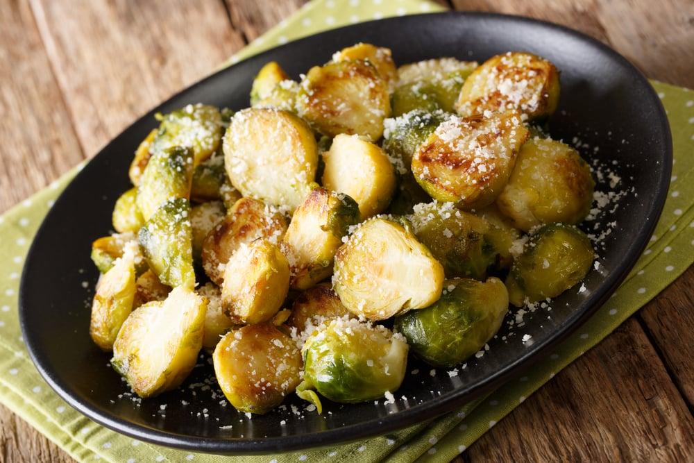 Cacio e Pepe Brussels Sprouts
