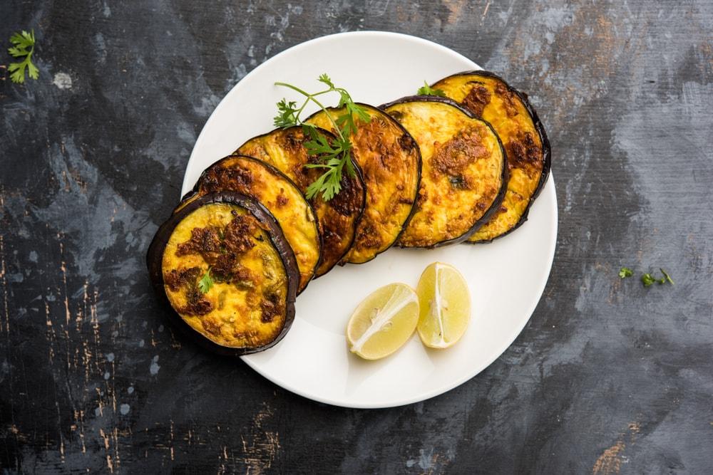Char Siu Roasted Eggplant