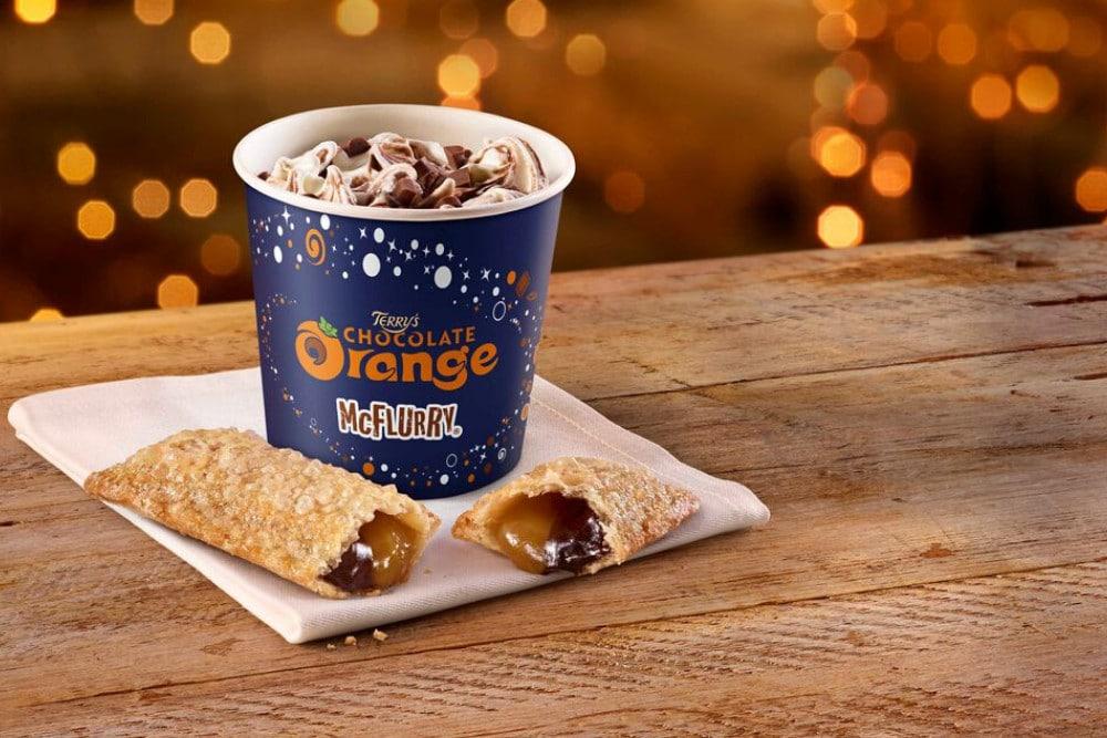 Chocolate Orange McFlurry