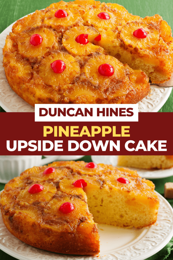 Duncan Hines Pineapple Upside Down Cake