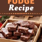 Fantasy Fudge Recipe