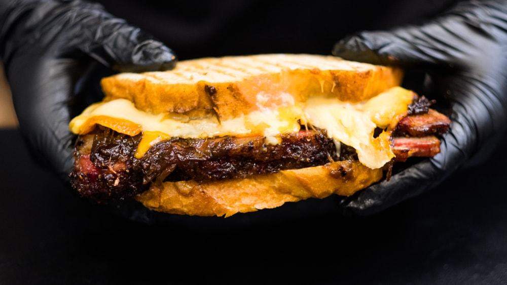Brisket Grilled Cheese Sandwich