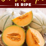 How To Tell If A Cantaloupe Is Ripe